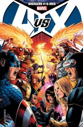 AVENGERS VS X-MEN GRAPHIC NOVEL