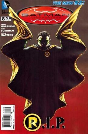 BATMAN INCORPORATED #8 (2012 SERIES) 2ND PRINT