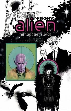 RESIDENT ALIEN VOLUME 2 SUICIDE BLONDE GRAPHIC NOVEL
