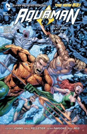 AQUAMAN VOLUME 4 DEATH OF A KING HARDCOVER