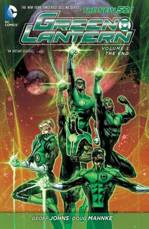 GREEN LANTERN VOLUME 3 THE END HARDCOVER
