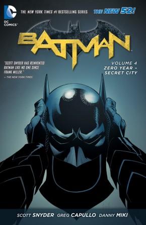 BATMAN VOLUME 4 ZERO YEAR SECRET CITY HARDCOVER