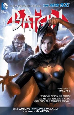 BATGIRL VOLUME 4 WANTED HARDCOVER