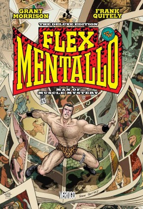 FLEX MENTALLO MAN OF MUSCLE MYSTERY GRAPHIC NOVEL