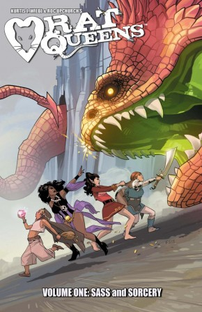 RAT QUEENS VOLUME 1 SASS AND SORCERY GRAPHIC NOVEL