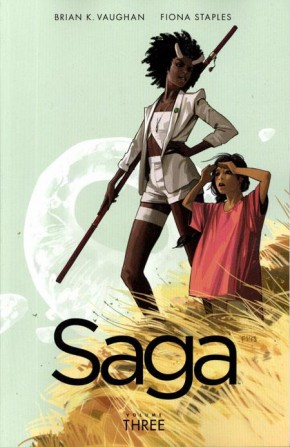 SAGA VOLUME 3 GRAPHIC NOVEL