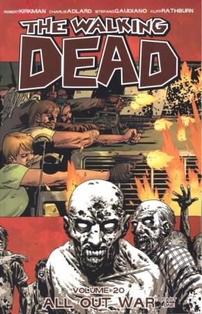 WALKING DEAD VOLUME 20 ALL OUT WAR PART 1 GRAPHIC NOVEL