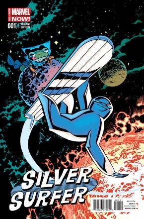 SILVER SURFER #1 (2014 SERIES) SAMNEE ANIMAL VARIANT