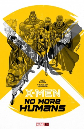 X-MEN NO MORE HUMANS HARDCOVER