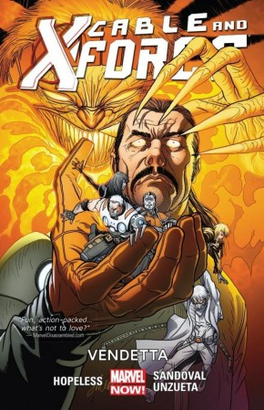 CABLE AND X-FORCE VOLUME 4 VENDETTA GRAPHIC NOVEL