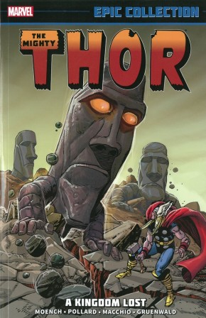THOR EPIC COLLECTION KINGDOM LOST GRAPHIC NOVEL