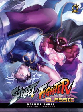 STREET FIGHTER CLASSIC VOLUME 3 PSYCHO CRUSHER HARDCOVER