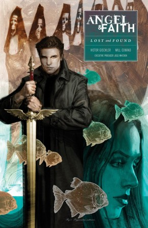 ANGEL AND FAITH SEASON 10 VOLUME 2 LOST AND FOUND GRAPHIC NOVEL