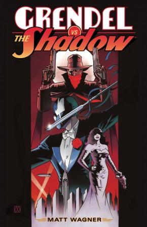 GRENDEL VS THE SHADOW HARDCOVER