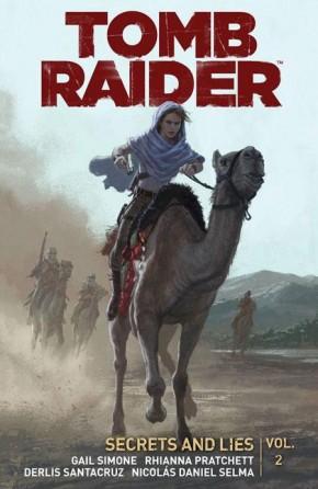 TOMB RAIDER VOLUME 2 SECRETS AND LIES GRAPHIC NOVEL