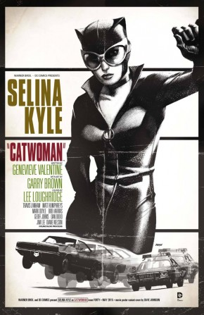 CATWOMAN #40 (2011 SERIES) MOVIE POSTER BULLET VARIANT