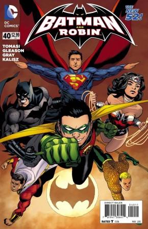 BATMAN AND ROBIN #40 (2011 SERIES)