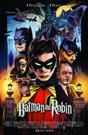 BATMAN AND ROBIN #40 (2011 SERIES) MOVIE POSTER VARIANT
