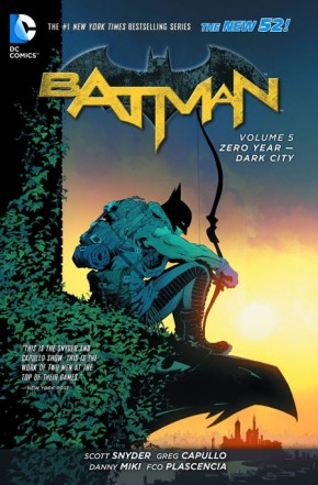 BATMAN VOLUME 5 ZERO YEAR DARK CITY GRAPHIC NOVEL