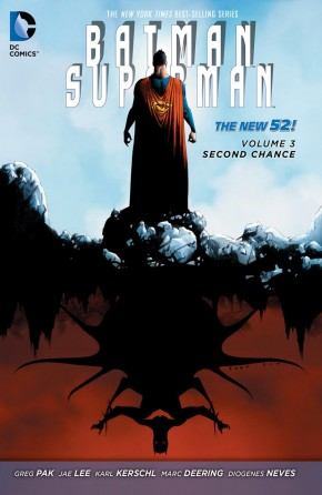 BATMAN SUPERMAN VOLUME 3 SECOND CHANCE HARDCOVER