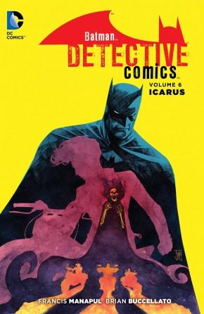 BATMAN DETECTIVE COMICS VOLUME 6 ICARUS HARDCOVER