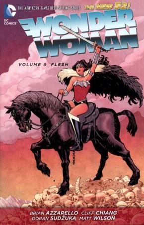 WONDER WOMAN VOLUME 5 FLESH GRAPHIC NOVEL