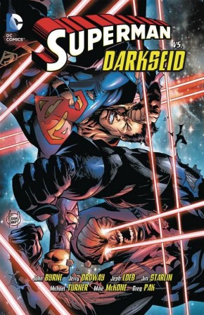 SUPERMAN VS DARKSEID GRAPHIC NOVEL