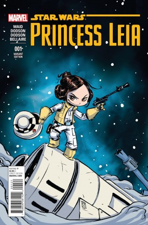 PRINCESS LEIA #1 SKOTTIE YOUNG BABY VARIANT COVER
