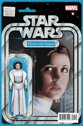 PRINCESS LEIA #1 ACTION FIGURE VARIANT COVER