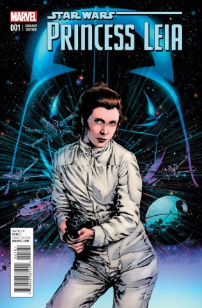 PRINCESS LEIA #1 CASSASY 1 IN 25 GUICE INCENTIVE VARIANT COVER