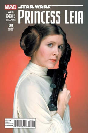 PRINCESS LEIA #1 CASSASY 1 IN 15 MOVIE INCENTIVE VARIANT COVER
