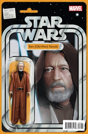 STAR WARS #3 (2015 SERIES) BEN (OBI-WAN) KENOBI ACTION FIGURE VARIANT