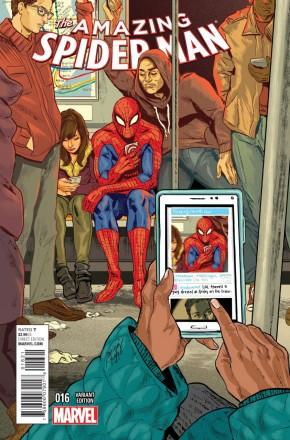 AMAZING SPIDER-MAN #16 (2014 SERIES) WOMEN OF MARVEL VARIANT