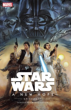 STAR WARS EPISODE IV A NEW HOPE HARDCOVER