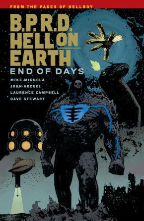 BPRD HELL ON EARTH VOLUME 13 END OF DAYS GRAPHIC NOVEL