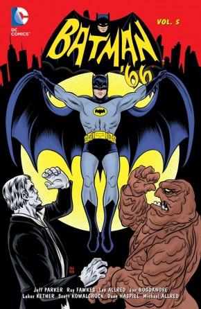 BATMAN 66 VOLUME 5 HARDCOVER