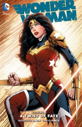 WONDER WOMAN VOLUME 8 A TWIST OF FATE HARDCOVER