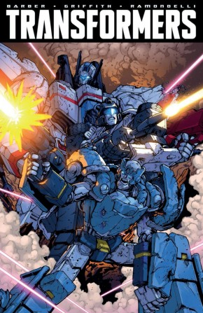 TRANSFORMERS ROBOTS IN DISGUISE VOLUME 8 GRAPHIC NOVEL