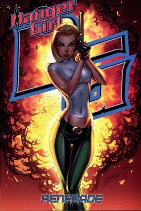 DANGER GIRL RENEGADE GRAPHIC NOVEL