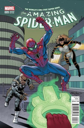 AMAZING SPIDER-MAN #9 (2015 SERIES) MCLEOD 1 IN 15 INCENTIVE VARIANT
