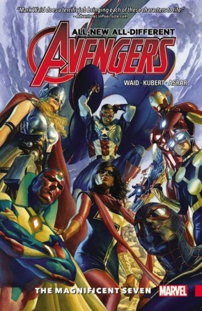 ALL NEW ALL DIFFERENT AVENGERS VOLUME 1 MAGNIFICENT SEVEN GRAPHIC NOVEL