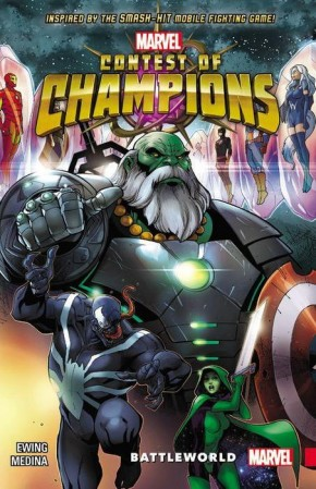 CONTEST OF CHAMPIONS VOLUME 1 BATTLEWORLD GRAPHIC NOVEL