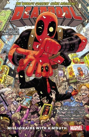 DEADPOOL WORLDS GREATEST VOLUME 1 MILLIONAIRE WITH A MOUTH GRAPHIC NOVEL