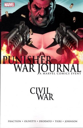 CIVIL WAR PUNISHER WAR JOURNAL GRAPHIC NOVEL (NEW EDITION)