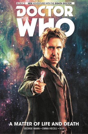 DOCTOR WHO 8TH DOCTOR VOLUME 1 MATTER OF LIFE AND DEATH HARDCOVER