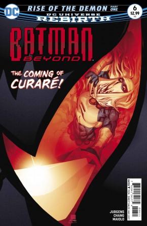 BATMAN BEYOND #6 (2016 SERIES)