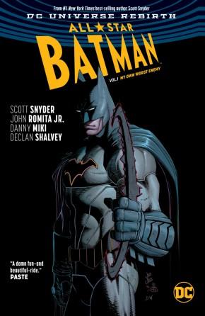 ALL STAR BATMAN VOLUME 1 MY OWN WORST ENEMY HARDCOVER