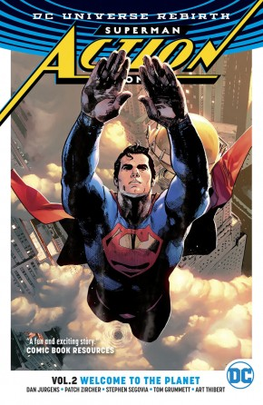 SUPERMAN ACTION COMICS VOLUME 2 WELCOME TO THE PLANET GRAPHIC NOVEL