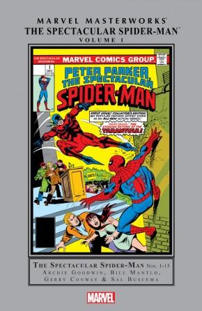 MARVEL MASTERWORKS SPECTACULAR SPIDER-MAN VOLUME 1 HARDCOVER