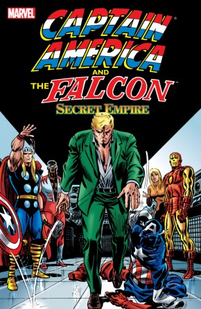 CAPTAIN AMERICA AND THE FALCON SECRET EMPIRE GRAPHIC NOVEL